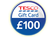 Free £100 Tesco Gift Card