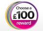 £100 voucher rewards