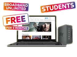Sky deals for students