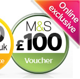 Sky TV with free M&S voucher