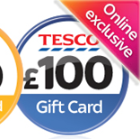 £100 Tesco Gift Card