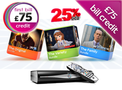 Cheapest Sky packages