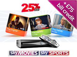 Sky TV bill credit deals