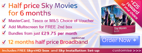 Sky Movies deal with voucher