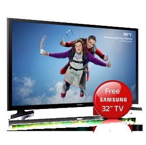 Free Samsung 32inch TV