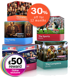 Discount Sky TV rewards