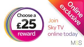 Sky M&S Rewards Voucher