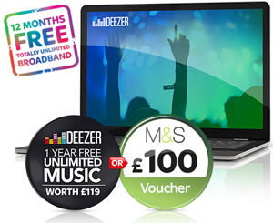 Sky Deezer music offer