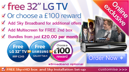 Sky TV Rewards