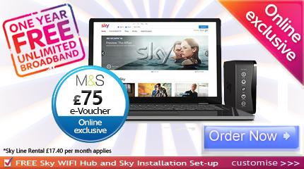 Sky Broadband voucher