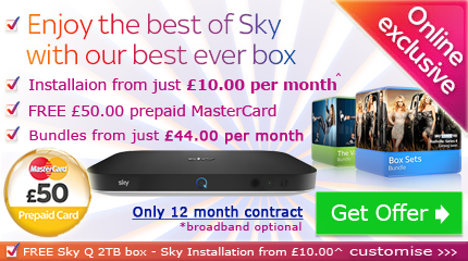 Sky Q deal with free voucher