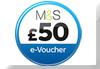 Free £50 M&S voucher