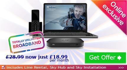 Sky Broadband without TV MasterCard