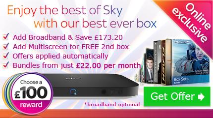 Sky TV with free reward voucher