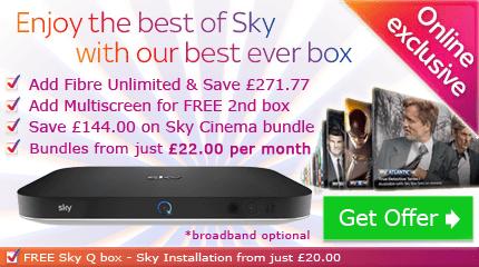 Sky bundles - customise