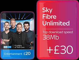 Sky TV + Fibre Broadband