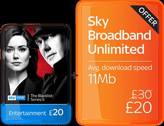 Sky TV + Broadband