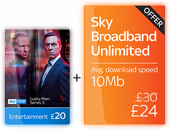 Sky Entertainment with Broadband Unlimited