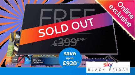 Sky Black Friday - Free TV