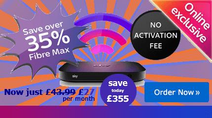 Sky Fibre Max deal