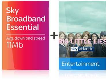 Sky Entertainment with Broadband Essential