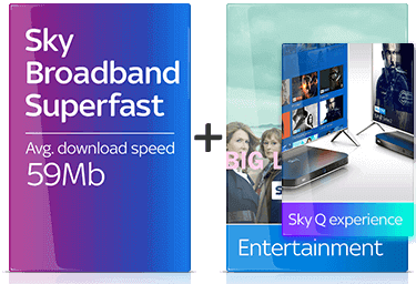 Sky Q Entertainment with Superfast