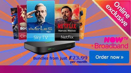 Sky TV deals on Now TV