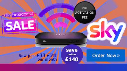 Sky Broadband deal free setup