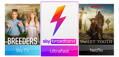 Sky TV with Broadband Ultrafast