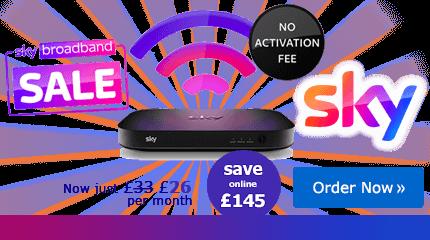 Sky Broadband deal free set up
